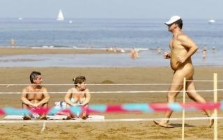 SPAIN-NUDISM-RACE